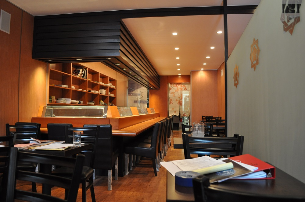 Sushi Bar Kitchen Design