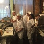 Carnegie Deli pop up NYC kitchen staff